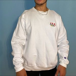 USA CHAMPION CREWNECK